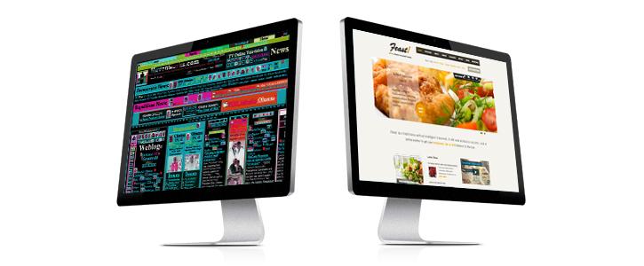 既存サイトのリニューアル イメージ